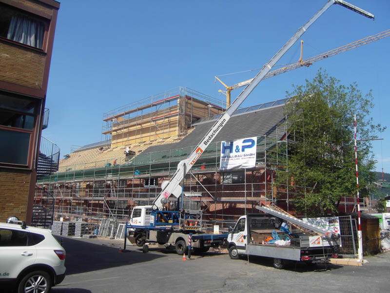 Baufortschritt-Juli